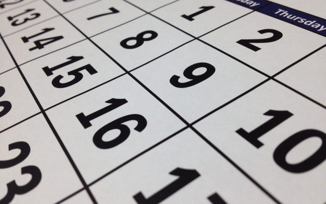 Calendari Sessions Consell de la Infància